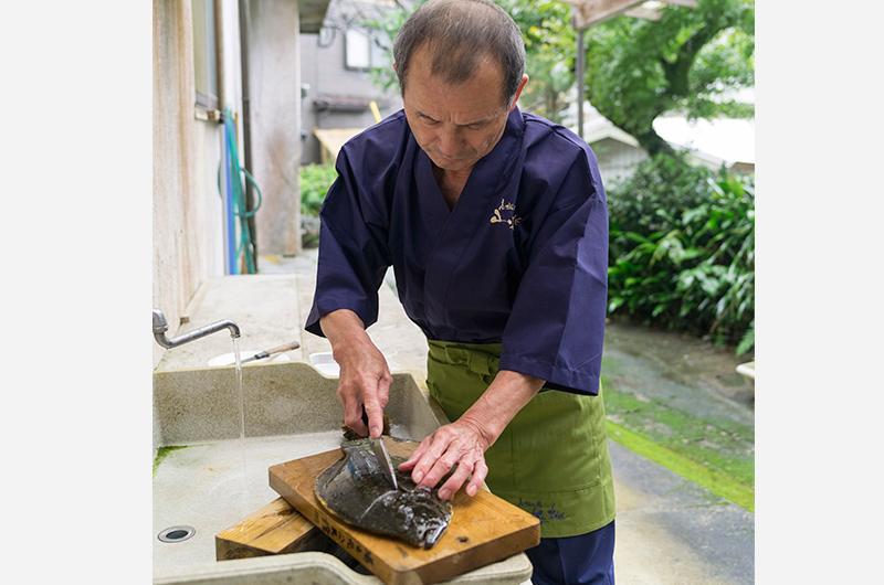 山桜桃の鮮魚